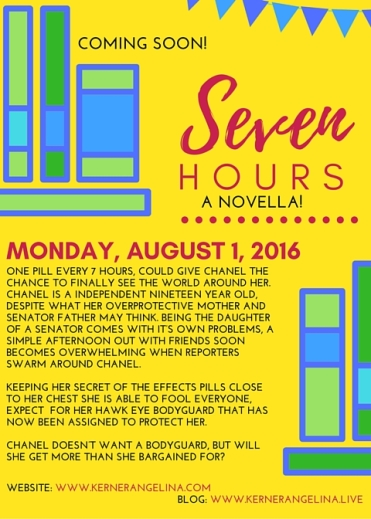 flyer for work coming soon! August 1, 2016