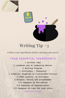 flyer for work Writing Tip #3