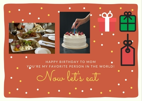 personal card happy birthday to mom