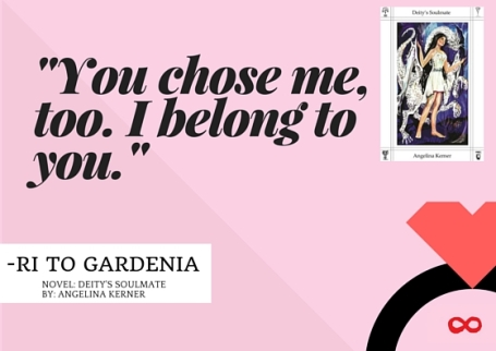 quote card entry-You chose me, too. I belong to you.-
