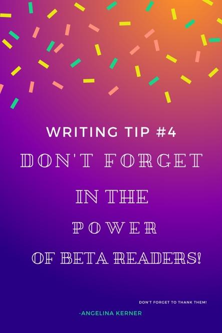 Writing Tip #4