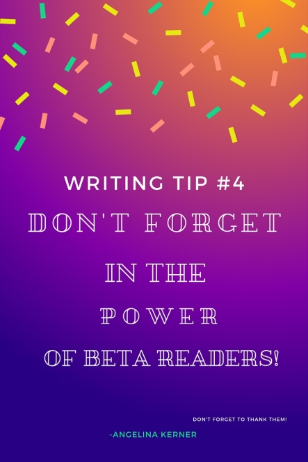 Writing Tip #4