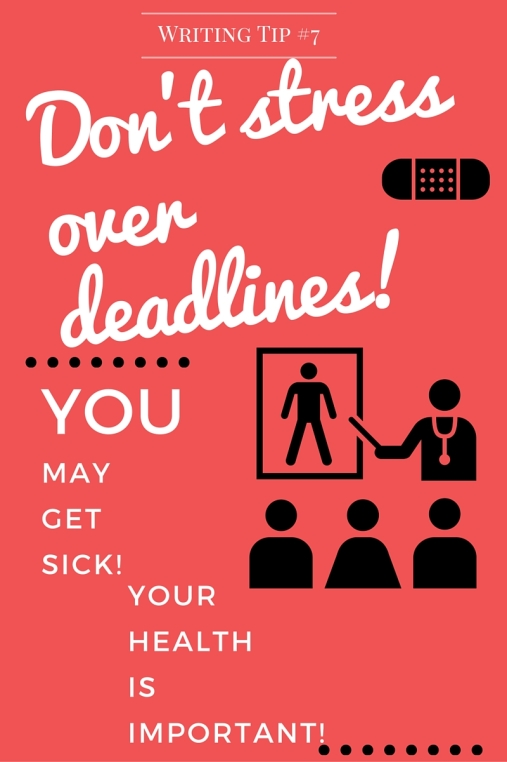 Don't stress over deadlines!