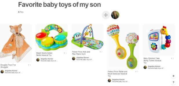 fav toys