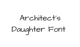 Architect's Daughter Font