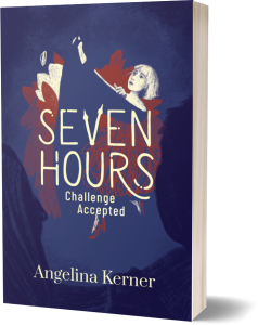 Seven Hours Challenge Accepted Book Cover 3D v2