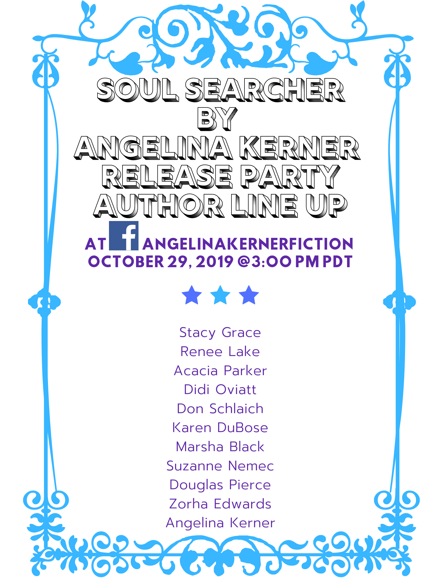 soul searcher author line up